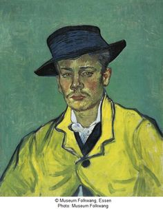 Vincent van Gogh Portrait d'Armand Roulin, 1888 Portrait of Armand Roulin Oil on canvas 65 x 54,1 cm Acquired in 1903 for the Museum Folkwang, Hagen, since 1922 Essen Inv. G 63 © Museum Folkwang, Essen Photo: Museum Folkwang