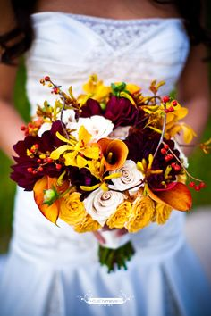 Fall Bouquet by Flora Fetish http://www.florafetish.com