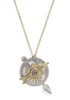 DO WANT- Cog and Effect Necklace, #ModCloth