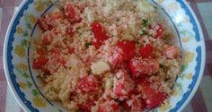 πληγουρι σαλατα Potato Salad, Grains, Potatoes, Rice, Ethnic Recipes, Food, Greek, Greek Language, Potato