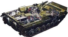BMP I tank interior - Google Search