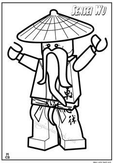 ninjago ausmalbilder - ausmalbilder für kinder | ninjago | pinterest