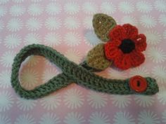 Poppy pacifier clip