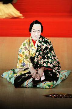 Kabuki - the actor Kanzaburo Nakamura