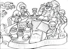 Image result for pesach coloring pages