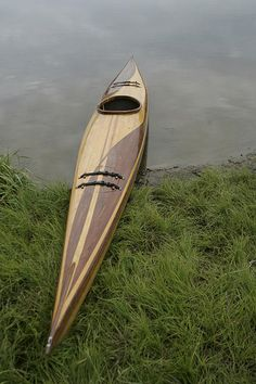 Cedar Strip Built Kayak