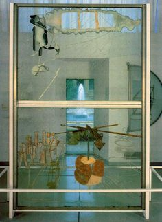 Marcel Duchamp - The Bride Stripped Bare by Her Bachelors, Even (The Large Glass), 1915-23