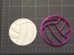 Details about Volleyball Cookie Cutter / Volleyball Fondant Cutter / Cupcake… Volleyball Locker, Volleyball Crafts, Volleyball Party, Volleyball Team Gifts, Volleyball Tips, Volleyball Birthday Cakes, Volleyball Cupcakes, Volleyball Decorations, Cupcake Cakes