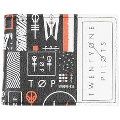 Hot Topic Twenty One Pilots Skeleton Clique Bi-Fold Wallet ($14) ❤ liked on Polyvore featuring bags, wallets, multi, bifold wallet, bill fold wallet, bi-fold wallets, credit card holder wallet and clear bags