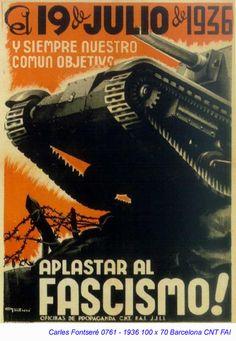 La guerra estava formada per dos bàndols; el republicà i el nacional (al qual pertanyia Francisco Franco)