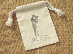 Hey, I found this really awesome Etsy listing at https://www.etsy.com/listing/152043500/24-wedding-favor-bags-muslin-3-x-5-bride