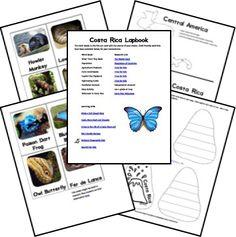 Costa Rica Lapbook
