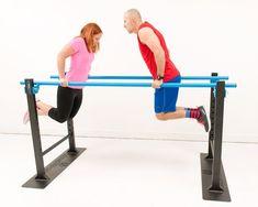 Adjustable parallel bars #homeimprovementintro,