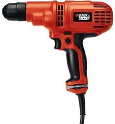 """Black & Decker DR260C/B 3/8"""" 5.2 Amp Drill/Driver Kit"""