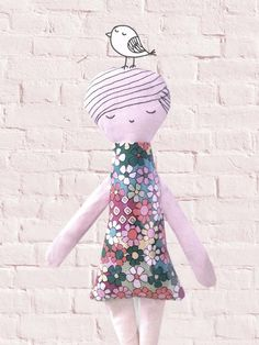 Flowers doll