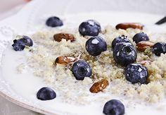 Quinoa & Coconut Porridge - ALDI Australia - vegan without the optional yoghurt or use plant based yoghurt Power Breakfast, Diet Breakfast, Breakfast Recipes, Alkaline Diet Plan, Alkaline Diet Recipes, Quinoa, Aldi Recipes, Gluten Free Recipes, Recipies