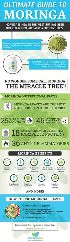 Moringa introduction, moringa nutrition and moringa benefits...all in one infographic. Learn why this superfood needs to be in your diet! #FF #followback #vitaminC #instafollow