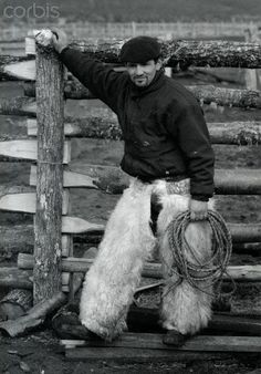 huaso chileno | nice clean sheepskin chaps