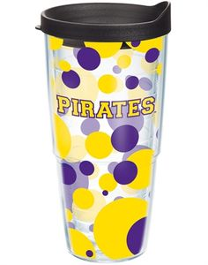 Collegiate | East Carolina University | Polka Dot Wrap with Lid | Tumblers, Mugs, Cups | Tervis
