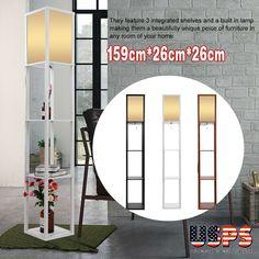 Circles Shelf Floor Lamp Floor Lamp With Shelves Circle