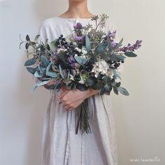 Spring Wedding Bouquets, Rustic Wedding Flowers, Bridal Flowers, Flower Bouquet Wedding, Hand Bouquet, Blue Bouquet, Art Floral, Paper Flower Decor, Rustic Bouquet
