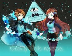 Descriptions of all the Gravity Falls AUs I know of. None of the art or the AUs themselves belong to me unless stated. I created the cover photo using an app called LiveCollage and the background photo is just a background from Gravity Falls. Gravity Falls Anime, Reverse Gravity Falls, Gravity Falls Fan Art, Gravity Falls Bill Cipher, Gravity Falls Comics, Reverse Falls, Dipper Pines, Dipper And Mabel, Monster Falls