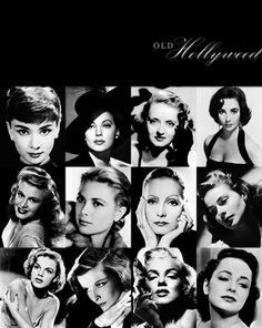 "Old Hollywood. <3  MAKES ME REMEMBER MY MOTHER, MARY HELMS....Watched 100's of 'OLD"" movies w/ her~"