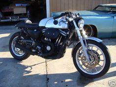Harley Sportster 2004 Cafe Racer 0011