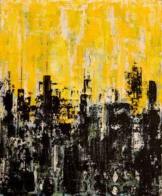 "Saatchi Art Artist Giorgi Chxeo; Painting, ""June in the city"" #art"