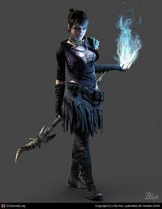 Morrigan (Sacred Ashes) - Dragon Age Origins