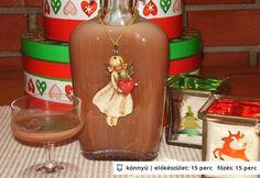 Tejszínes csokoládélikőr