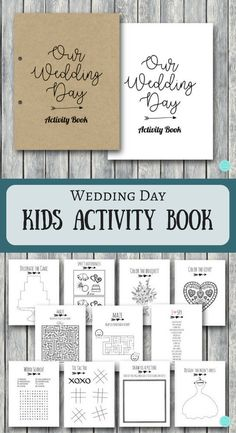 65 ideas wedding games table etsy wedding is part of Kids table wedding - Kids Wedding Favors, Wedding Table Games, Wedding With Kids, Wedding Guest Book, Perfect Wedding, Wedding Day, Wedding Ceremony, Casual Wedding, Kids Wedding Games