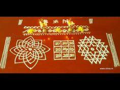 The sacred rangolis drawn in puja room on Friday. In this video, the making of Hridhaya Kamalam, Kubera Kolam and Aiswarya Kolam are shown. Kolams drawn for Lakshmi Puja. Easy Rangoli Designs Diwali, Simple Rangoli Designs Images, Free Hand Rangoli Design, Small Rangoli Design, Rangoli Designs With Dots, Rangoli With Dots, Beautiful Rangoli Designs, Rangoli Drawing, Pooja Room Design
