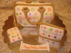 Louie Vuitton Birthday Cake