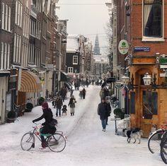 Winter in Amsterdam, Netherlands