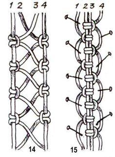 Macrame Bracelet Patterns, Macrame Patterns, Macrame Jewelry, Macrame Bracelets, Bracelet Crafts, Loom Bracelets, Macrame Wall Hanging Diy, Macrame Plant Hangers, Macrame Owl
