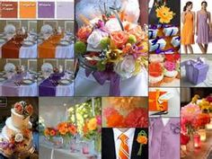 august wedding color schemes - Bing images