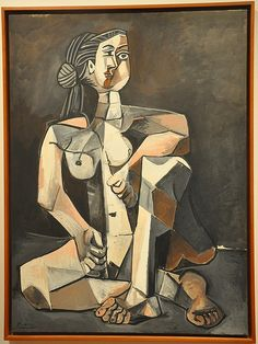 Pablo Picasso: Seated Woman (1953)
