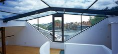 shaped glazing to fit a double pitched roof!