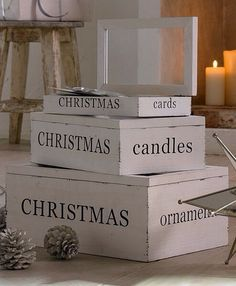 Christmas. Love to have one of these FOR EVERYTHING!!