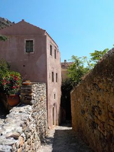 Malvasia - medieval fortified city - Greece