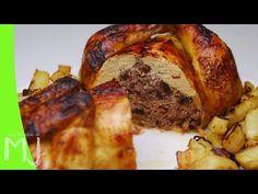 POLLO RELLENO y aprender a deshuesar el pollo | Las Recetas de MJ - YouTube