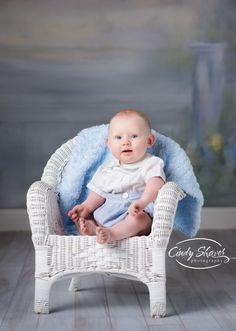 classic children's portraits, traditional kids pictures, huntsville photographer, 6 month old boy