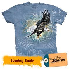 Soaring Eagle Eagle, Mountain, Mens Tops, T Shirt, Supreme T Shirt, Tee Shirt, Tee, Mountaineering