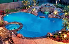 Pool Lighting | Blue Haven Pools