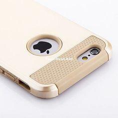 Iphone 7 caso híbrida dura goma a prueba de impactos de alta resistencia Iphone 6s 7 Plus Cubierta
