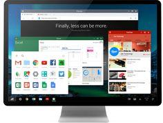 Remix OS le enseña a Google como convertir Android en un sistema operativo de escritorio