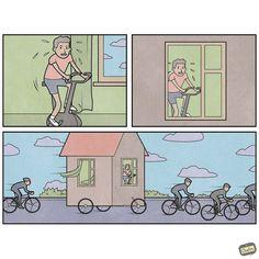 Life is Weird – Les nouvelles illustrations sarcastiques d'Anton Gudim (image)