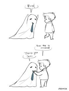 halloween destiel cuteness! (hamburgergod.tumblr)