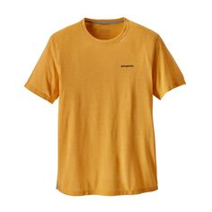 M's Short-Sleeved Nine Trails Shirt, Rugby Yellow (RGBY)
